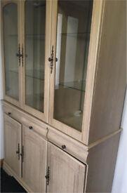 3 door glass display cabinet for quick sale