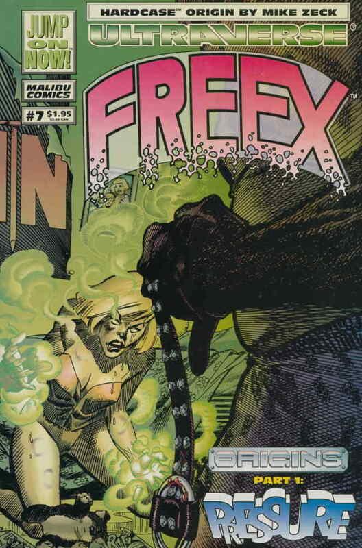 Freex #7 VF; Malibu   save on shipping - details inside