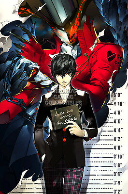 RGC Huge Poster - Shin Megami Tensei Persona V 5 PS4 PS3 PS2 PSP - EXT568 (Persona 3 Poster)