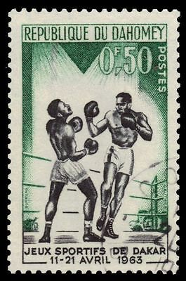 "DAHOMEY 172 (Mi213) - Dakar Friendship Games ""Boxing"" (pf2561)"