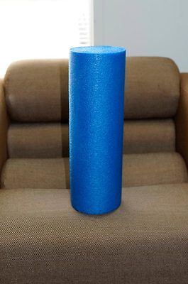 """HIGH DENSITY USA MADE FOAM EXERCISE ROLLER FOR YOGA and DEEP MASSAGE 6"""" x 18"""""""