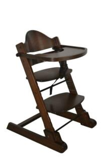 Brand New Baby Wooden High Chair with Tray and Bar