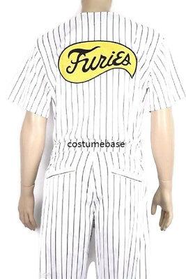 FURIES Baseball COSTUME SET Jersey Shirt Pants Movie uniform The Warriors - Warriors Movie Costume