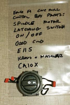 Emco F1 Cnc Mill Control Box Parts Ca10x Switch E11s