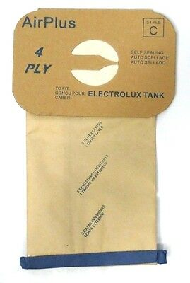 8 Bags for Electrolux Canister Vacuum Style C ~ 4 Ply