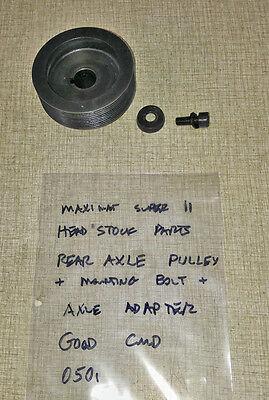 Emco Maximat Super 11 Lathe Headstock Belt Driven Pulley 0501