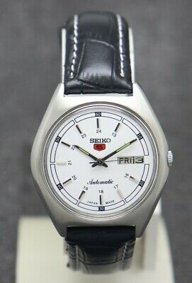 Vintage Seiko 5 Automatic Movement No. 6309 Japan Made Men's Watch.