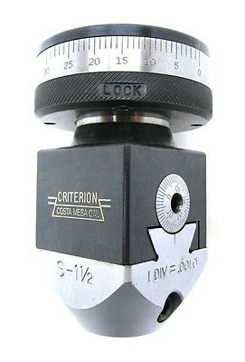 Criterion S5 1 12 Tenth Setting Boring Head New Item Old Stock