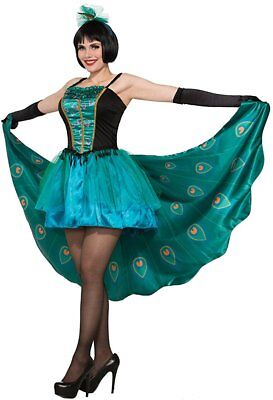 Adult Pretty In Peacock Costume Standard