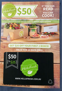 Hello Fresh gift card Bruce Belconnen Area Preview