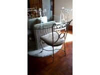 Unique shabby chic table and chairs