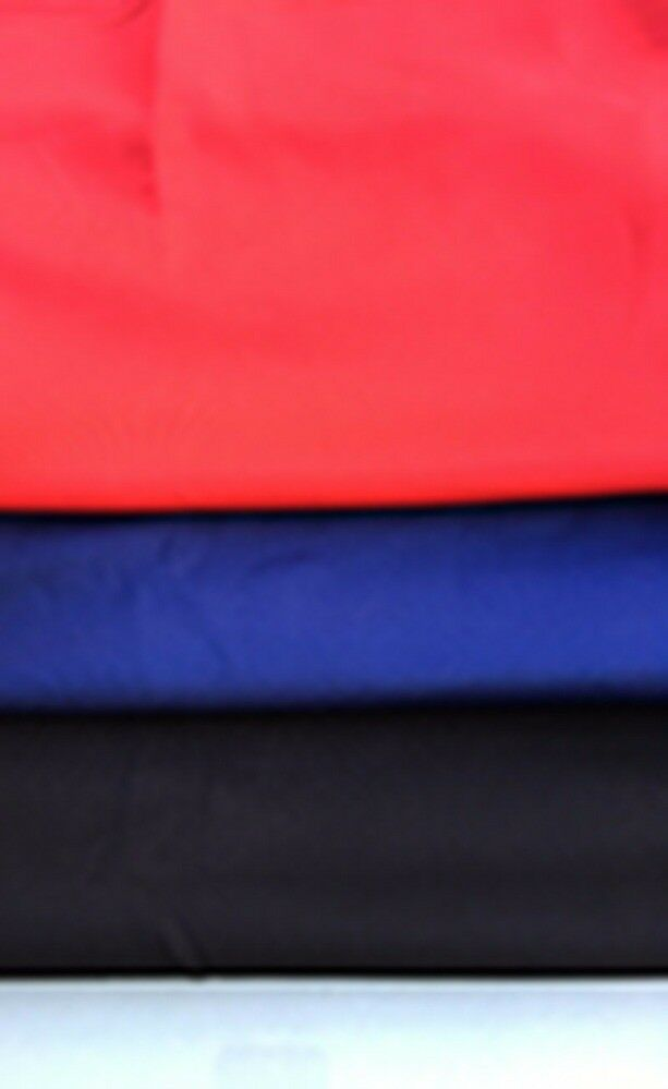 Plain Scuba Fabric in Black, Red or Navy. X METRE