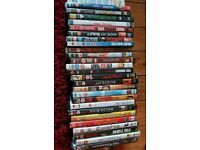 26 DVDs watched once orvtwice