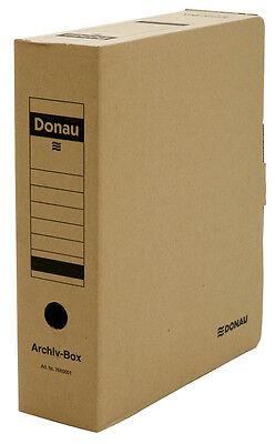 Archivboxen Archivbox VE 20 Stück Vollpapp für einen Ordner / Box Blitzversand