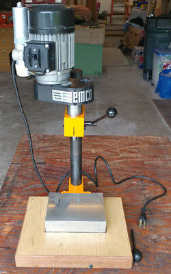 Emco Compact 5 8 Lathe Vertical Milling Attachment 1 W Custom Base 0605
