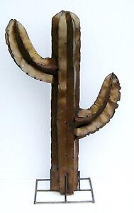 Yard Art Saguaro Cactus Metal Sculpture 36 034 eBay