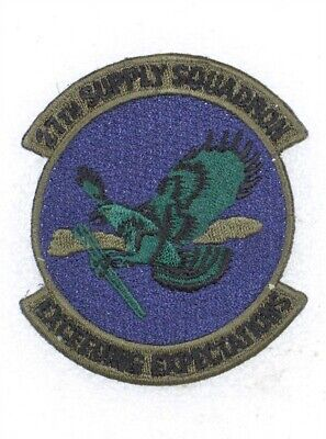 USAF Air Force Patch: 27th Supply Squadron - subdued
