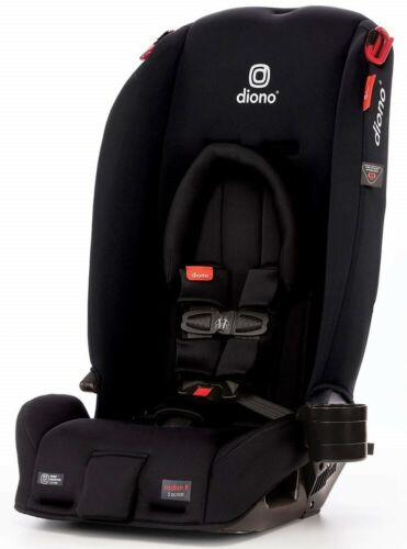 Diono Radian 3 RX All-in-One Convertible + Booster Child Safety Car Seat Black