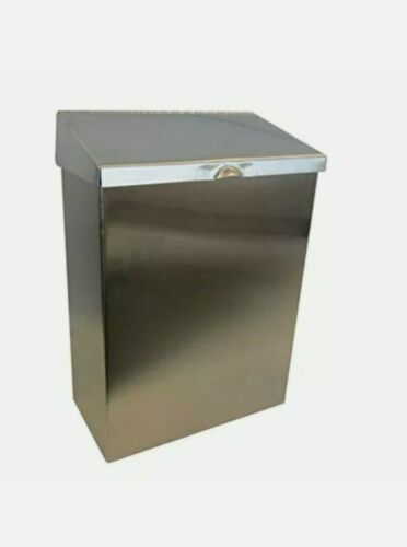 Hospeco ND-1E Receptacle Napkin Disposal Restroom Stainless Steel NEW