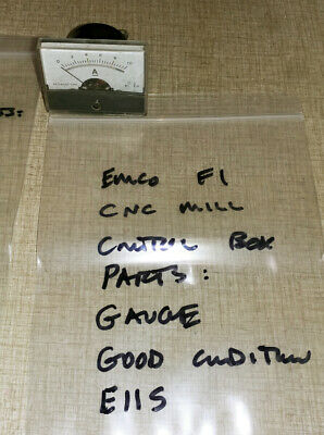 Emco F1 Cnc Mill Control Box Parts Gauge E11s