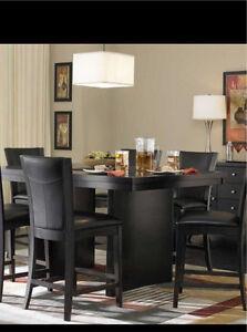 Beautiful & modern pub table dining set