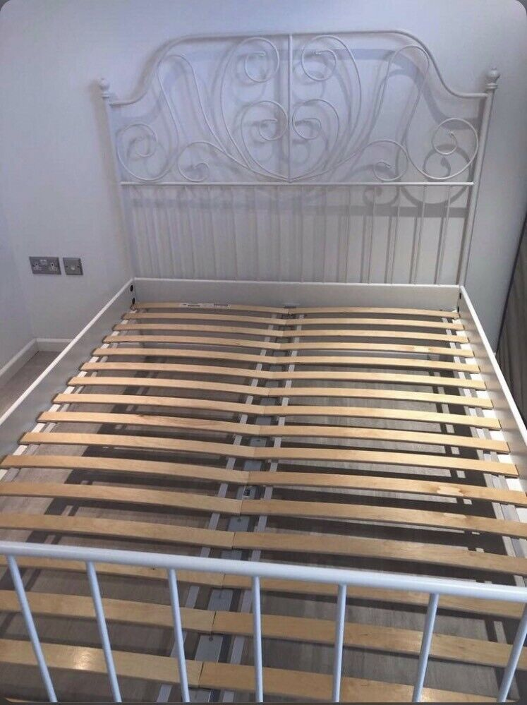 Ikea King Size Metal Bed Frame