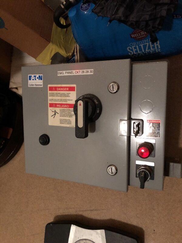 EATON - Cutler Hammer - Combination Motor Controller - ECH2401EJD SeriesA Type1