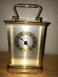 Vintage Bulova Quartz Westminster & Whittington Clock ( Chimes) Table Top Mantle