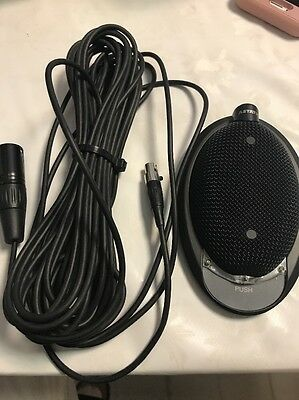 Continuously Variable Polar Pattern - CAD Audio 930VPL Boundary Mic, Continuously Variable Polar Pattern, Black