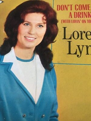 Loretta Lynn Dont Come Home A Drinkin With Lovin On Your Mind Orig Decca Dl 748