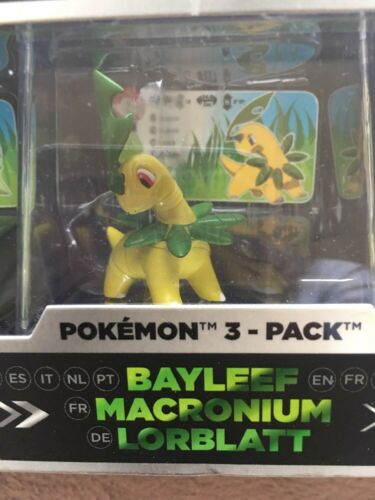 Pokemon Trainer s Choice Mini Figure 3-Pack Treecko Grovyle Sceptile Case Hoenn - $62.99