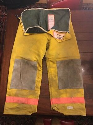 Body Guard Firefighter Turnout Pants Bunker Gear W Liner Large