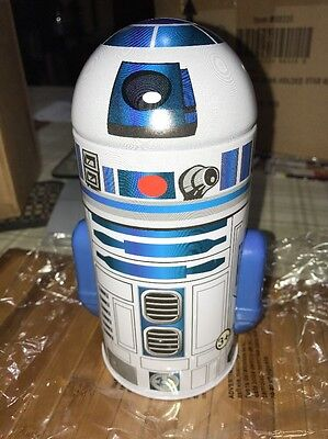 Star Wars R2 D2 Character Coin Bank From The Tin Box Company 2013 New