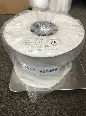 1.9 Mil 6 X 8 Clear Poly Bags On A Perforated Roll 1 Roll Of 1500 Bags