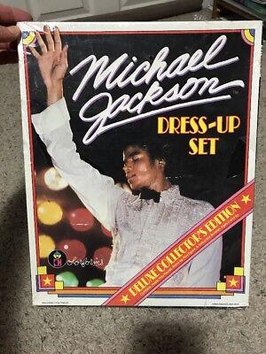 Michael Jackson Dress Up Colorforms Adventure Play Set Unused 1984 Sealed