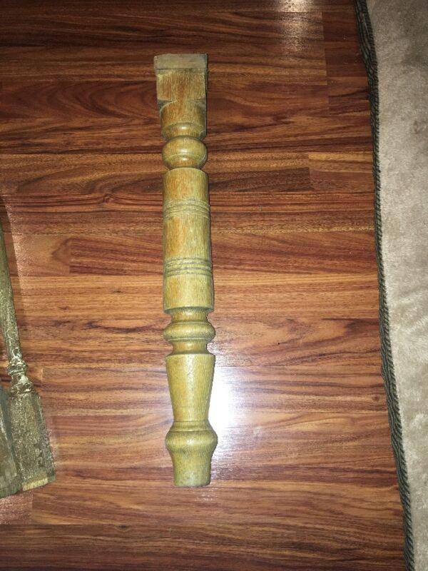 Vintage 1900s Victorian Leg Salvaged Piece