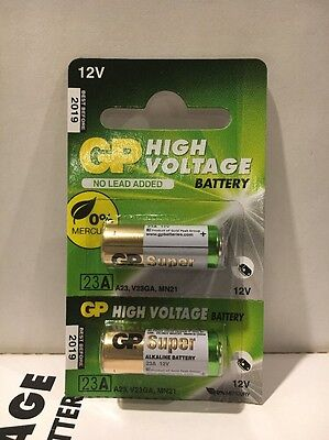 2 Pack GoldPeak A23 12 Volt Batteries MN21 MN23 23AE 21/23 GP23 23A 23GA
