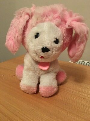 Vintage POOCHIE plush dog doll toy from 1980's