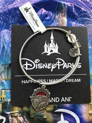 Disney Alex And Ani Villains Cruella De Vil Silver Bangle NEW
