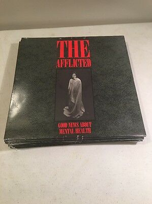 The Afflicted  Good News About Mental Health   Rare  Sealed Punk Rock Lp