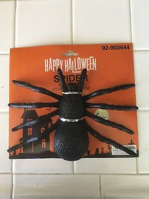 *** Halloween 1 Big Glitter Spider - Big Spider Halloween Decoration
