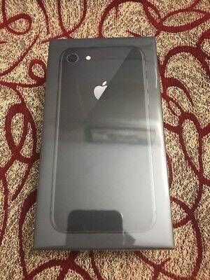 Apple iPhone 8 Organize Gray 256 GB Factory Unlocked GSM CDMA Brand New Sealed