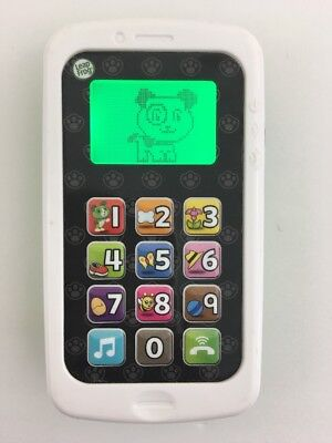 LeapFrog Chat And Count Smart Phone Green & White