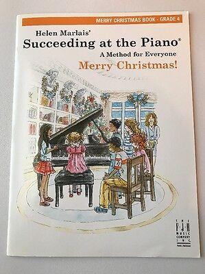 Succeeding At The Piano Merry Christmas Book Grade 4 Helen Marlais Sheet Music ()