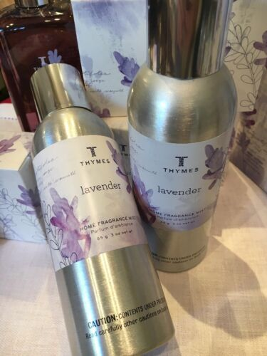 Thymes Lavender Home Fragrance Mist - Natural Body Hand