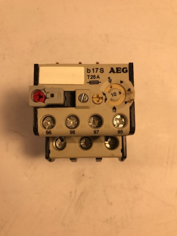 *NEW* AEG 910-341-936-00 OVERLOAD RELAY -FREE SHIPPING-