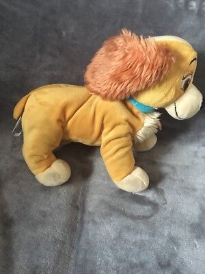 Disney LADY lady and the tramp plush Approx 12 Inch
