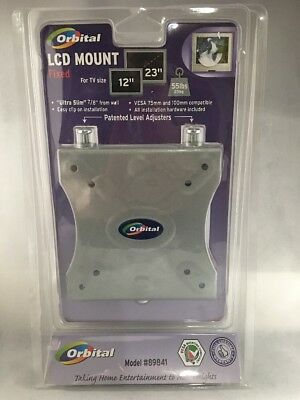 """Orbital LCD Mount Fixed For 12"""" And 23"""" TVs up to 55 Pounds Model 89841"""