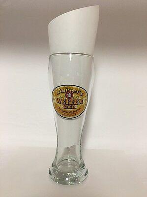 Vintage MAISEL'S WEIZEN Bier 0.5 L Beer Glass Pilsner German
