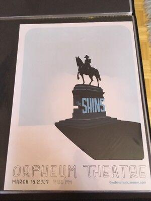 shins concert poster